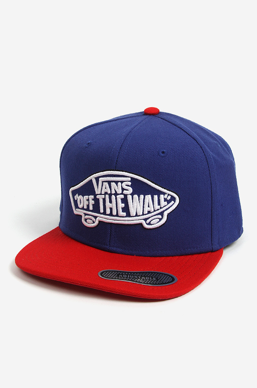 VANSHome Team Snapback Blue depths/R.red