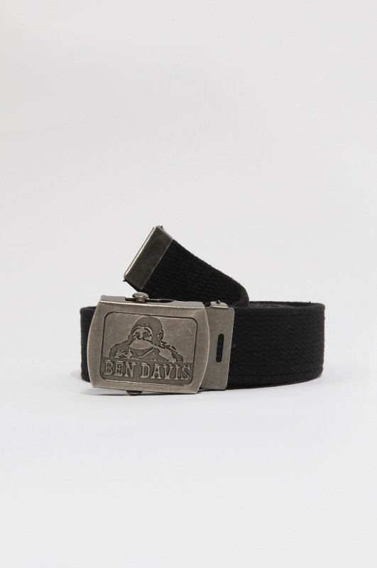 BENDAVIS Logo Belt Black