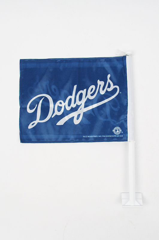 MLB LA Dodgers Car Flag