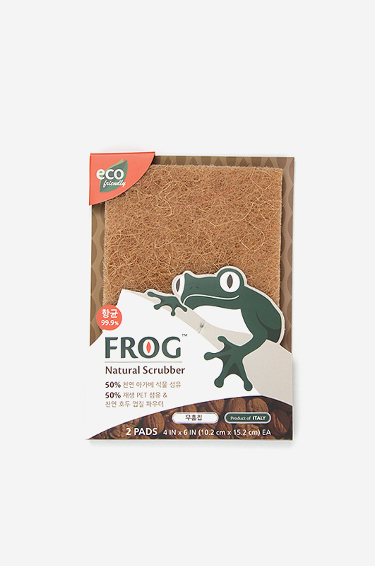 FROGNatural Brown Scrubber 무흠집
