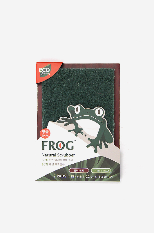FROGNatural Green Scrubber 강력세척