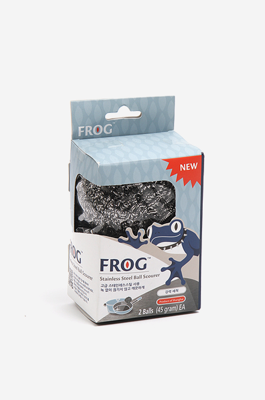 FROGStainless Steel Ball Scourer 강력 세척