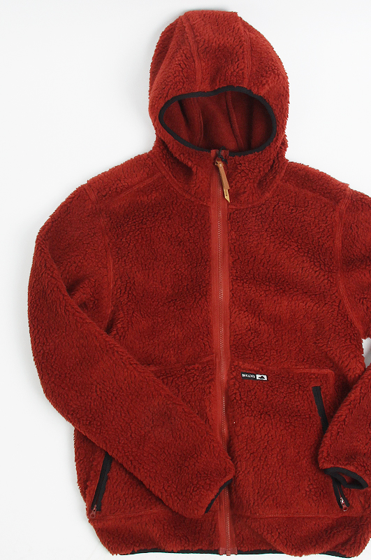 HOLDEN Sherpa Zip-Up Burnt Henna