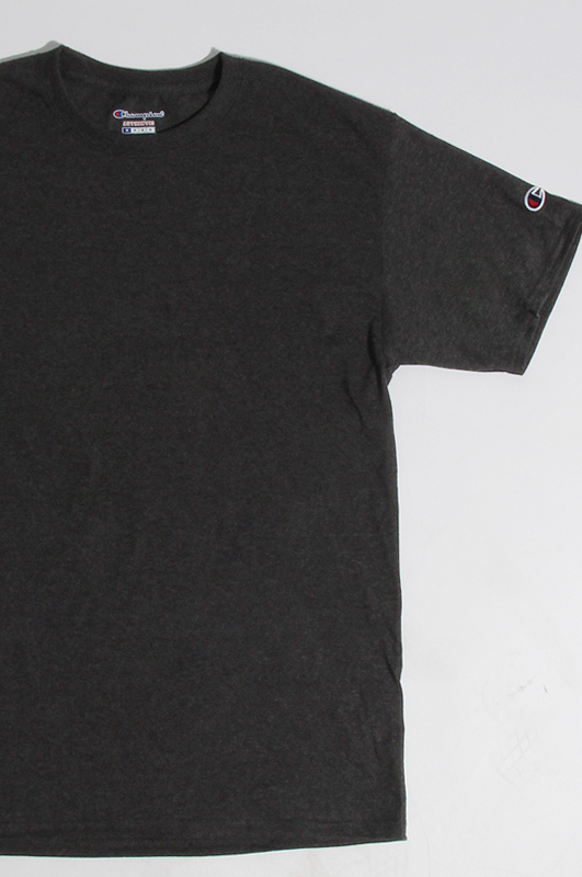 CHAMPION Basic S/S Charcoal Heather