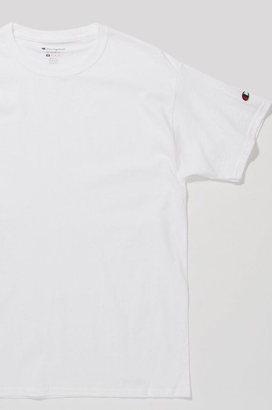 CHAMPION Basic S/S White