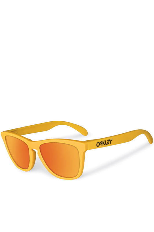 OAKLEY Frogskins Pike's Gold Fire Ird