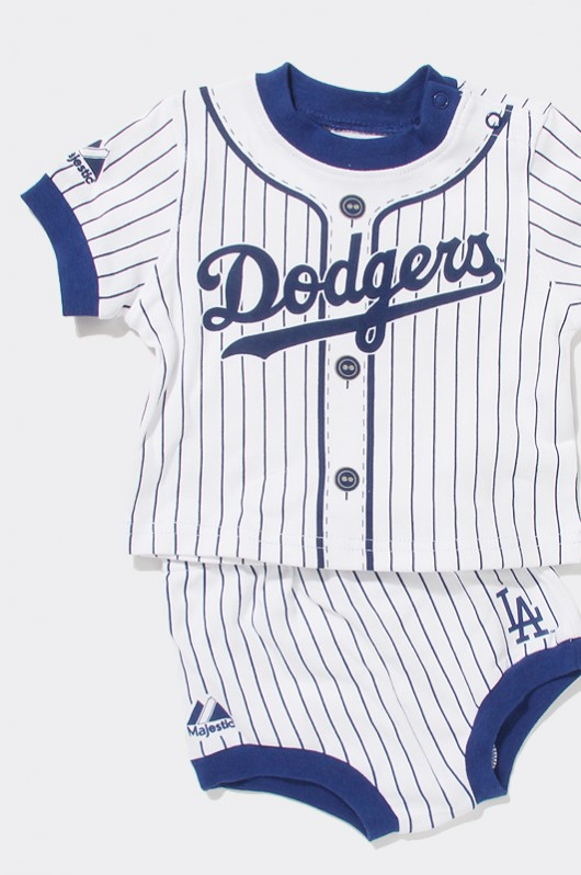 MLB Infant Diaper Set Blue Dodgers