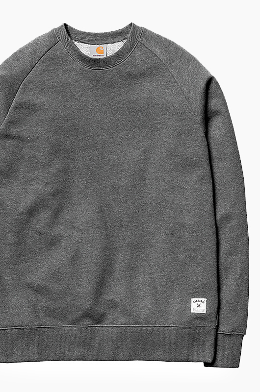 CARHARTT-WIPHolbrook Crew Black Noise Heather
