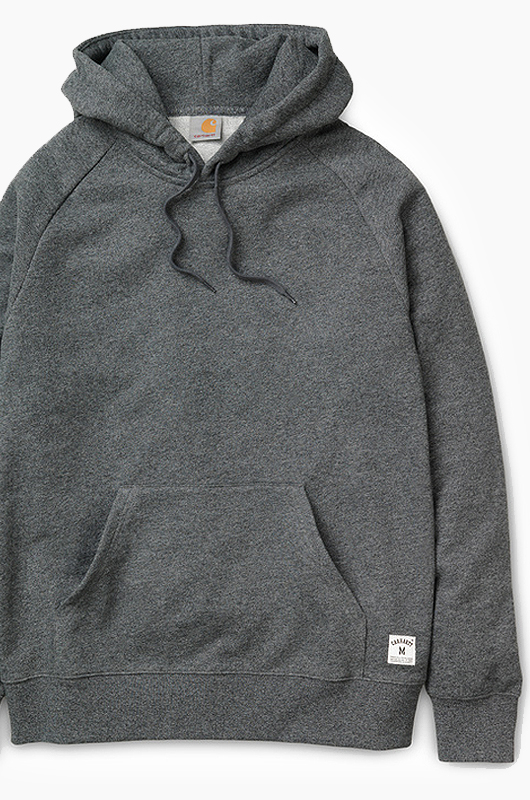 CARHARTT-WIPHolbrook Hooded Black Noise Heather