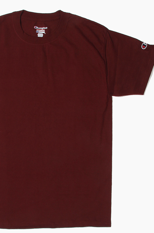 CHAMPION Basic S/S Maroon