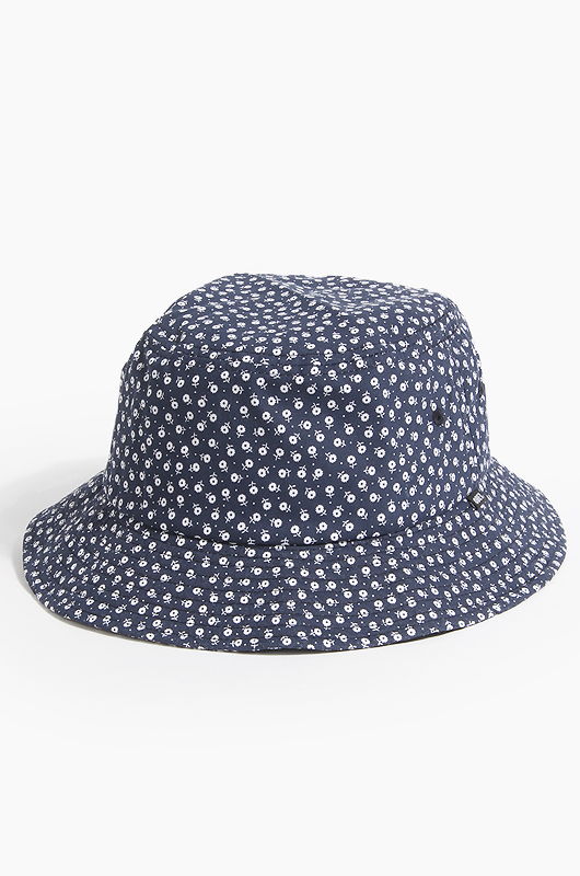 OBEY Montrouge Bucket Hat Navy Multi