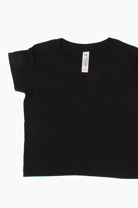 AAA Toddler Tee Black