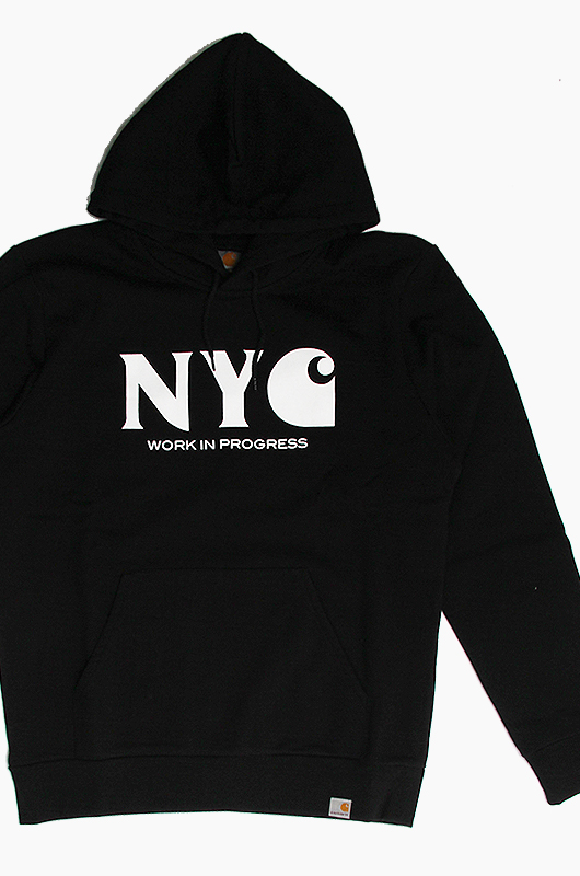 CARHARTT-WIPHooded New York City Black / White