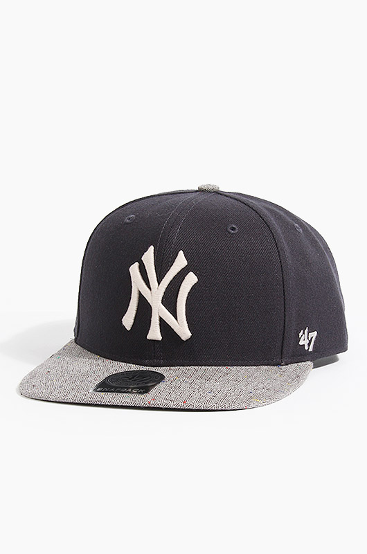 47BRAND MLB Victura 47 Captain Yankees(Navy/Grey)