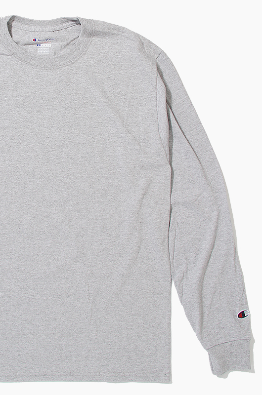 CHAMPION Basic L/S H.Grey