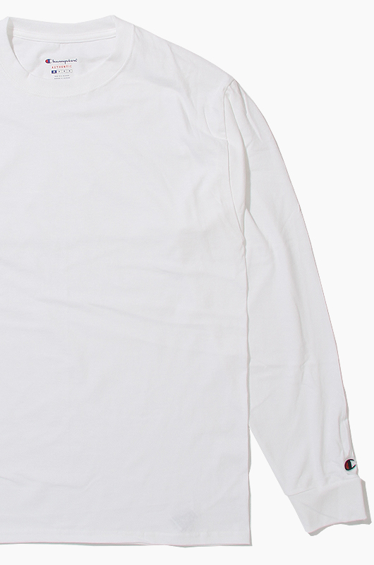 CHAMPION Basic L/S White