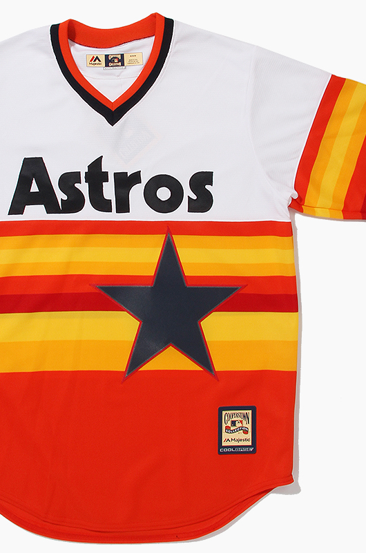 MAJESTIC Cooperstown Houston Astros Jersey