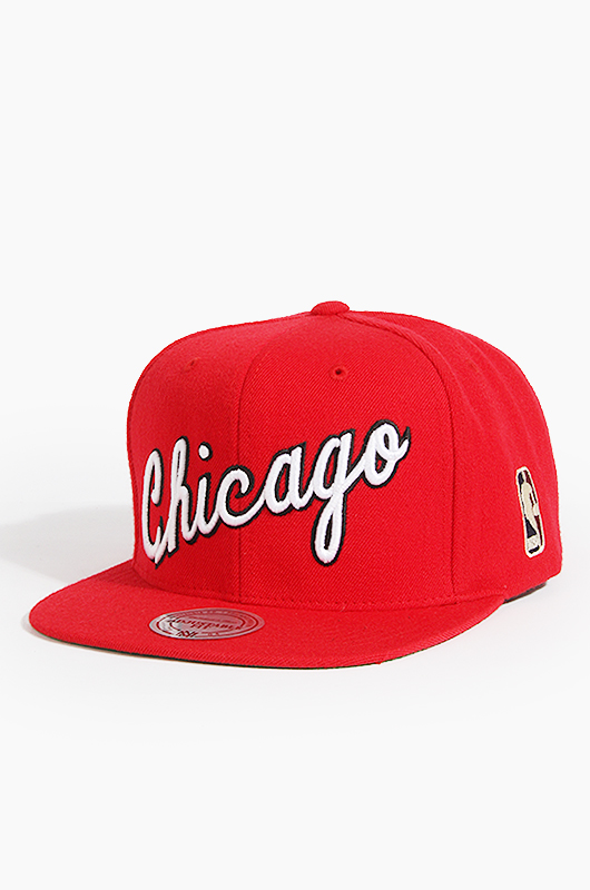 M&N NBA NL15Z TPC Bulls(Red)