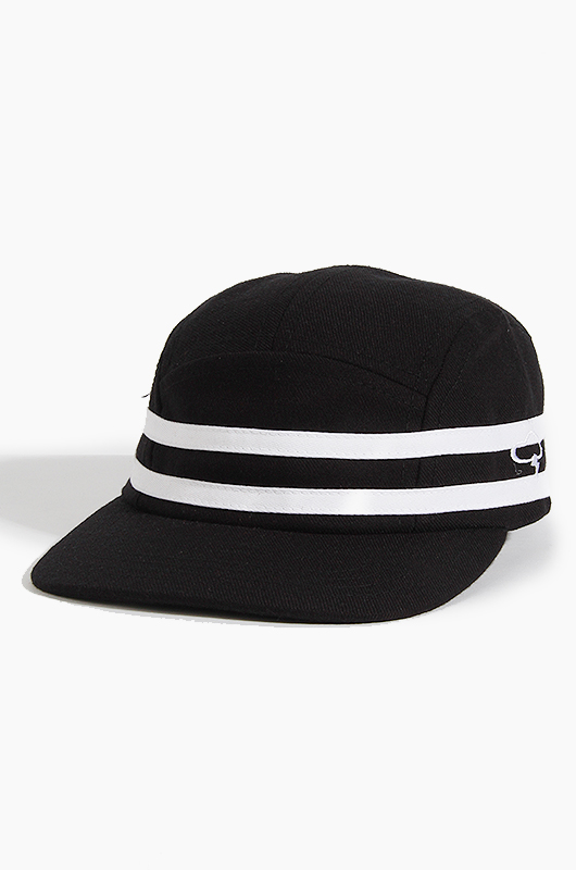 THE AMPAL CREATIVE Stripes 5Panel Black