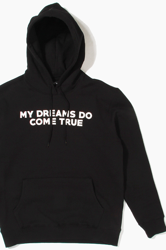 808 My Dreams Do Come True Pullover Hoodie Black