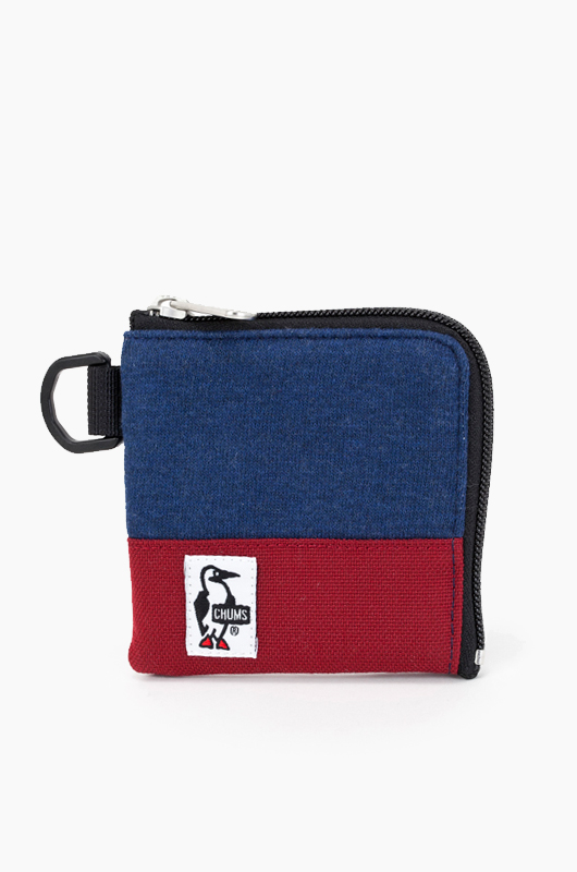 CHUMSSquare Coin Wallet Navy/Red