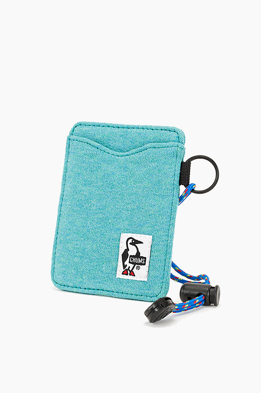 CHUMS Pass Case Teal