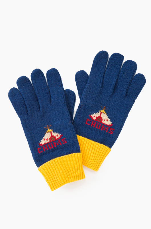 CHUMS Knit Pop Glove Navy