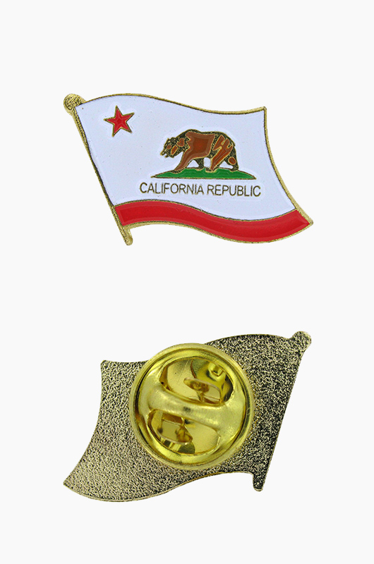 AMERICA ACC California Flag Pin