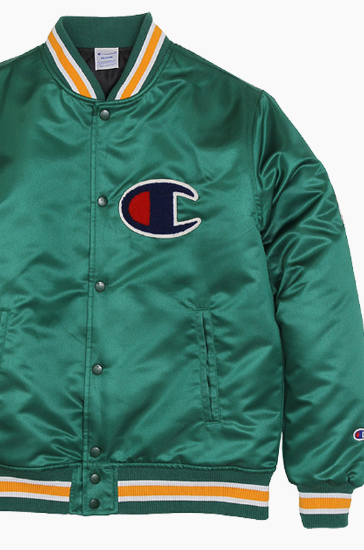 CHAMPION (JAPAN) Baseball Jacket(C3-G612) Moss