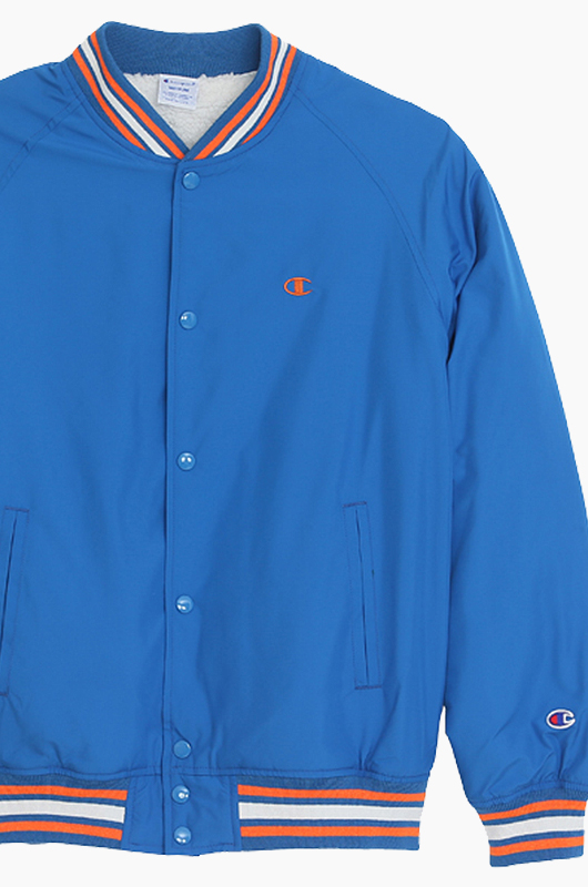 CHAMPION (JAPAN) Snap Jacket(C3-G610) Blue