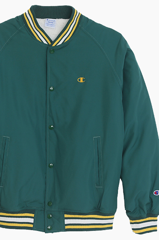 CHAMPION (JAPAN) Snap Jacket(C3-G610) Moss