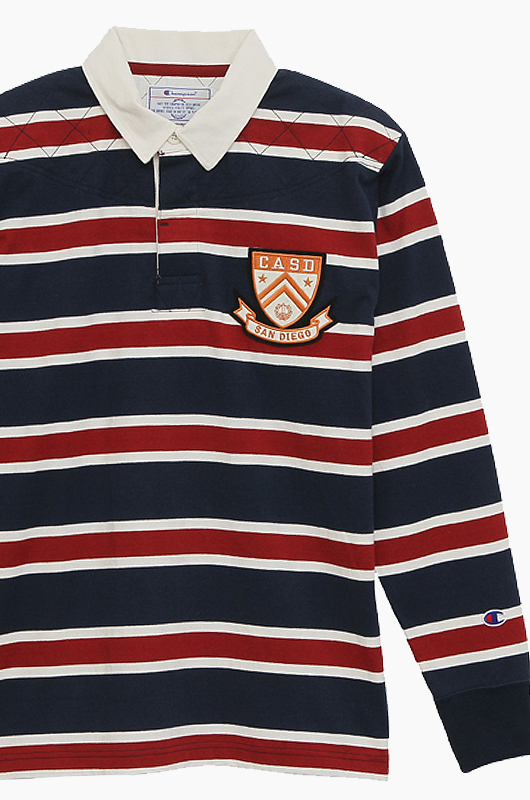 CHAMPION (JAPAN) Rugby Shirts(C3-G417) Navy