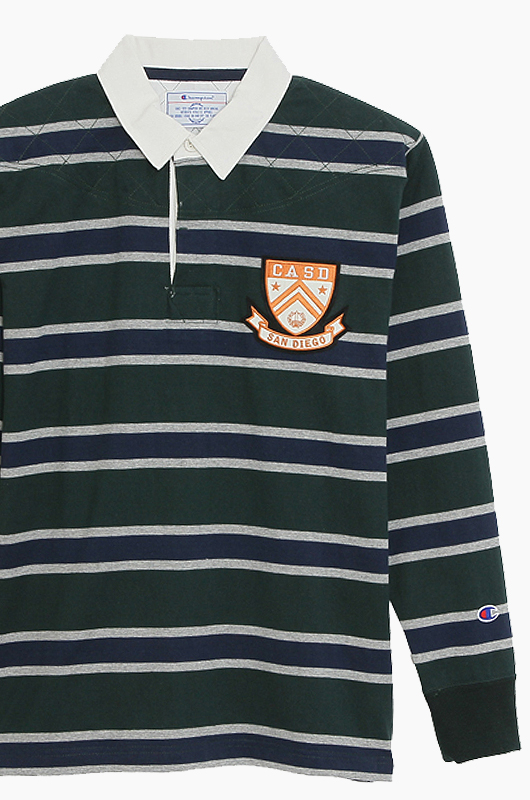 CHAMPION (JAPAN) Rugby Shirts(C3-G417) Moss