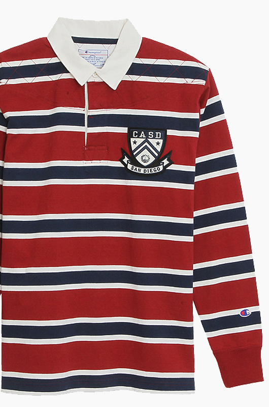CHAMPION (JAPAN) Rugby Shirts(C3-G417) D.Red