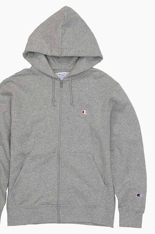 CHAMPION (JAPAN) Full Zip Hoodie(C3-C119) Grey