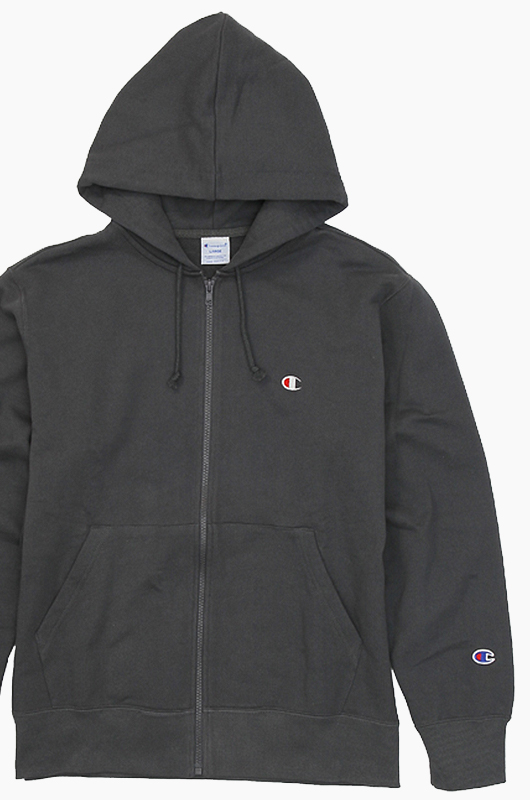 CHAMPION (JAPAN) Full Zip Hoodie(C3-C119) Charcoal