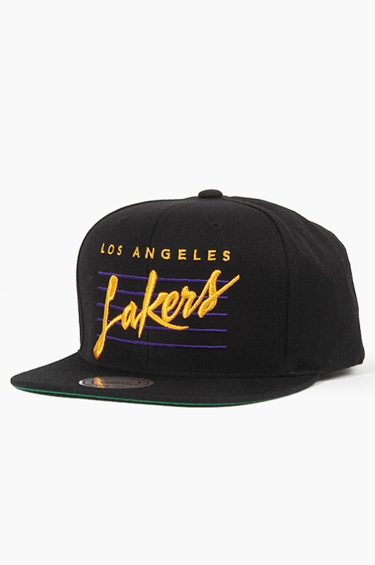 M&N Corsive Retro (VJ61Z) Lakers