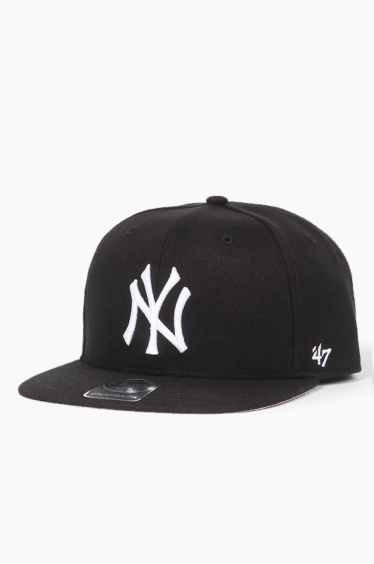 47BRAND MLB Sure Shot Snapback Yankees(Black)