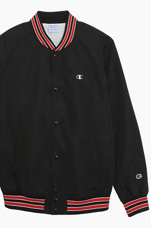 CHAMPION (JAPAN) Snap Jacket(C3-H604) Black