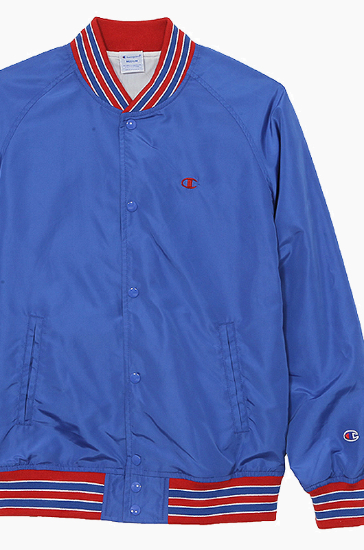 CHAMPION (JAPAN) Snap Jacket(C3-H604) Blue