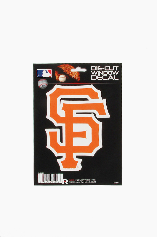 MLB Die-Cut Window Decal SF
