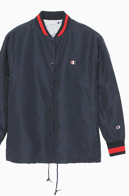 CHAMPION (JAPAN) Women Snap Jacket(C3-H601) Navy