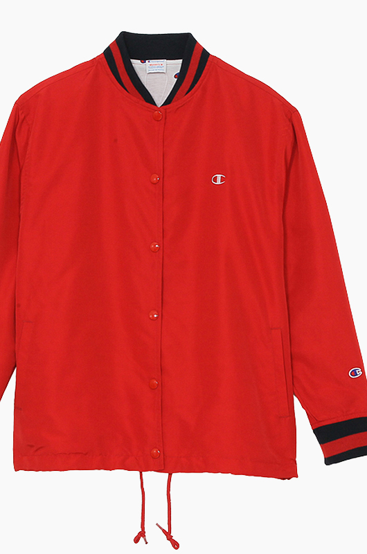 CHAMPION (JAPAN) Women Snap Jacket(C3-H601) Red
