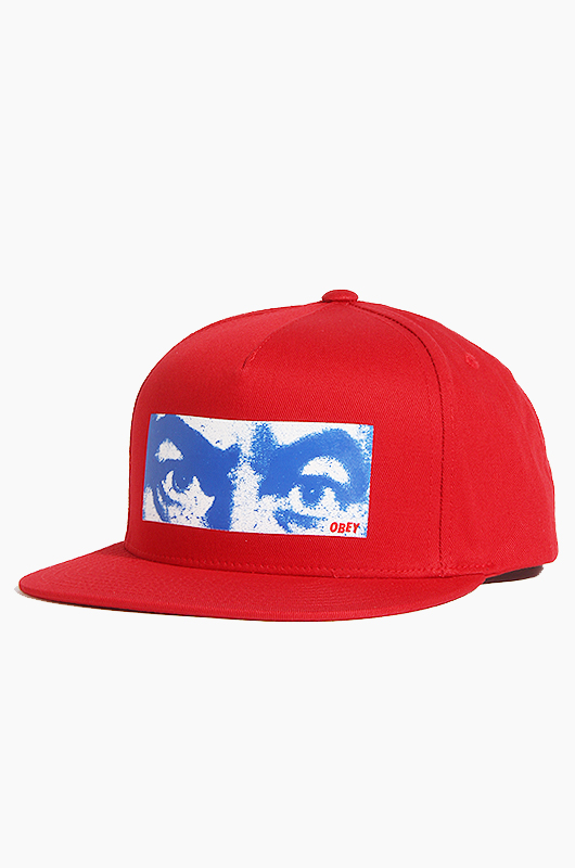 OBEY Watcher Snapback Red