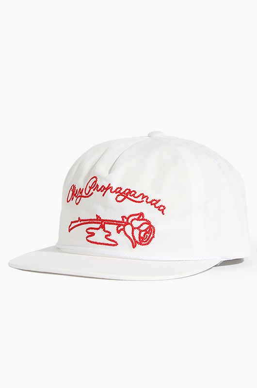 OBEY Rosay Snapback White