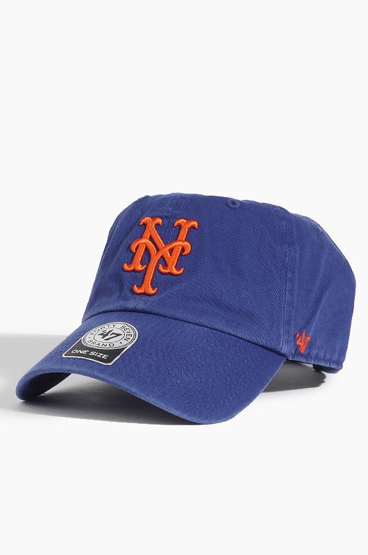 47BRAND MLB Clean Up Mets(Blue)