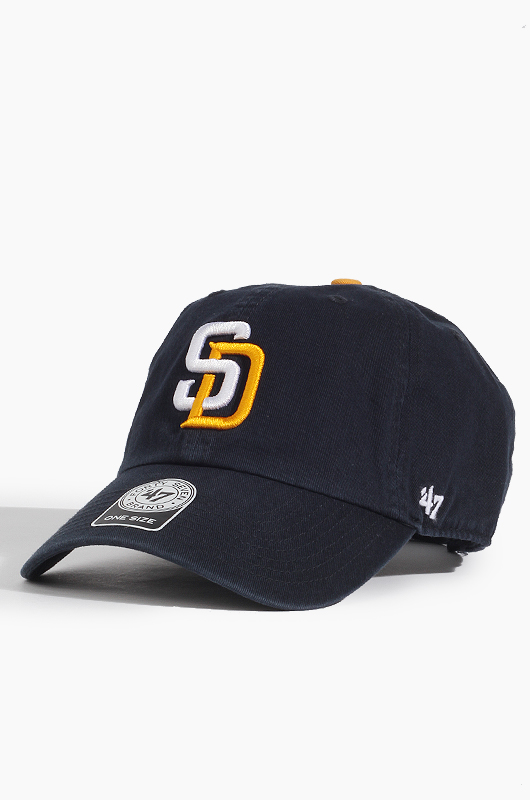 47BRAND MLB Clean Up Padres(Navy)
