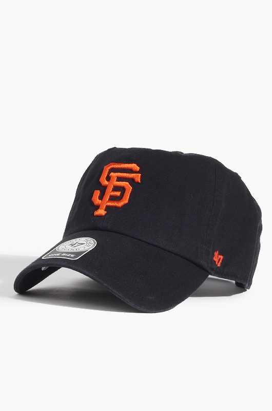 47BRAND MLB Clean Up Giants(Black)