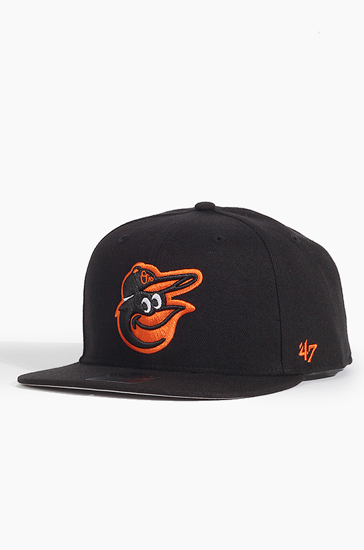 47BRAND MLB Sure Shot Snapback Orioles(Black)