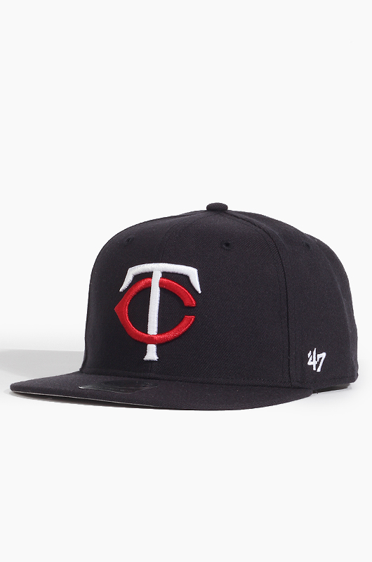47BRAND MLB Sure Shot Snapback Twins(Navy)
